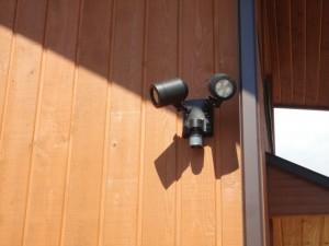 センサー付LEDスポット