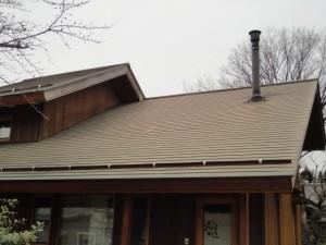 塗装前の屋根外観