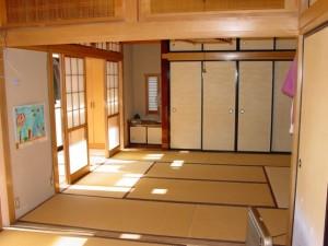 板を張る前の和室