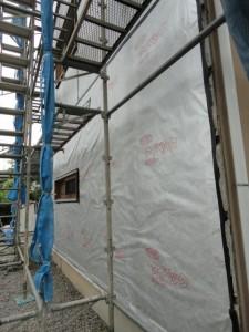 3mの遮熱、透湿、防水シルバーシート