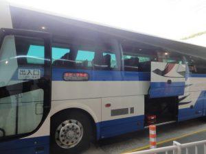 新宿バスタのJR高速バスです