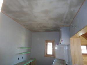 漆喰下塗り工事