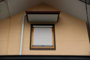 トップターン窓に付けたファインシェードです