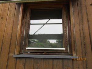 窓回りなどのコーキング