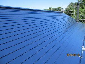屋根は遮熱塗料を塗装