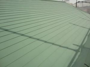 屋根は遮熱塗装