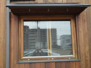 すくr-ン取付前のトップターン窓