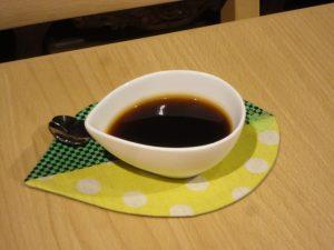 手作りのコーヒーゼリー