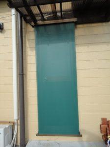 日差しの強いドアにも付けました