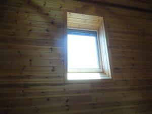 電動の天窓です