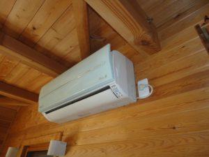 12年前のお掃除エアコンです