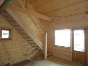 階段の取り付け