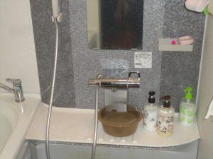 故障したシャワー水栓