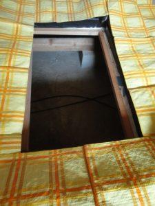 和室の床下点検口です