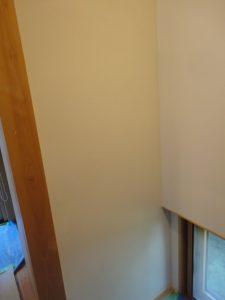塗り直した漆喰壁