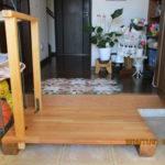 手摺付きの踏み台